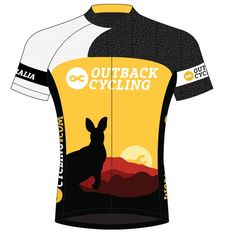 Outback Cycling Jersey by KriziT