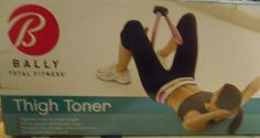 BALLY TOTAL FITNESS THIGH TONER. TIGHTEN INNER & OUTER THIGHS FIRM SHAPE TARGET #Bally
