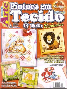 Criando Arte - Pintura em Tecido e Tela Bichinhos - nº67 - Fatima Decoupage - Picasa Web Albums...painting designs!