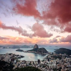 Rio de Janeiro, as seen from Christ the Redeemer statue - by Isac Goulart on 500px