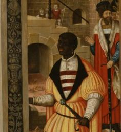 Detail: Adoration of the Kings. Early  16th century Italian. REVEALING THE AFRICAN PRESENCE IN RENAISSANCE EUROPE · The Walters Art Museum