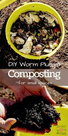 Gardening Composting Make a DIY vermicomposter for composting in small gardens and community allotments. This brilliant small garden composting system keeps your compost away from backyard rodents which can really spoil the fun of composting! Garden Compost, Hydroponic Gardening, Hydroponics, Container Gardening, Gardening Hacks, Vegetable Gardening, Small Space Gardening, Small Gardens, Gardens