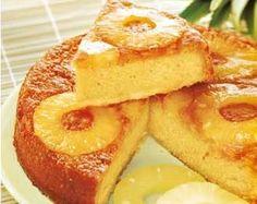 gateau ananas noix de coco sans gluten sans beurre