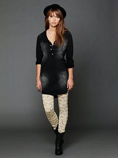 Sweater Leggings = awesome for cold winter days, with boots!