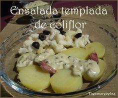 Una deliciosa ensalada templada donde la coliflor es la protagonista. Es una receta para tener en cuenta si comemos en la oficina.