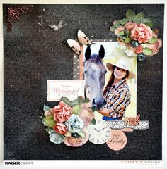 Kaisercraft Ooh La La You Are Wonderful, Creating A Blog, Clear Stamps, Scrapbooking Layouts, Craft Projects, Challenges, Paper Crafts, Cards, Ranges