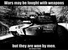 Image result for general patton and his quotes on character