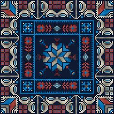 Illustration about Seamless pattern design with traditional Palestinian embroidery motif. Illustration of decor, fabric, jordan - 168298348 Star Patterns, Cross Stitch Patterns, Cross Stitch Cushion, Palestinian Embroidery, Embroidery Motifs, Graph Paper, Pattern Design, Bohemian Rug, Old Things