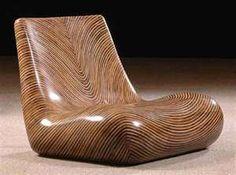 Wood chair - very cool