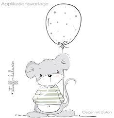 Maus Illustration, Baby Kind, Bird Art, Easter Crafts, Painted Rocks, Safari, Applique, Doodles, Greeting Cards