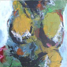 Acryl på lærred, 50 x 50 cm (privateje)