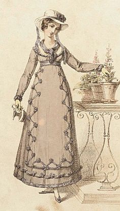 Cottage dress (Ackermann's Repository of Arts), September 1820