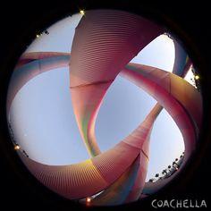 Coachella 2014, Coachella Festival, Ray Charles, Application Web, Opera House, Planets, Celestial, Building, Travel