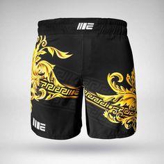 Boxen Grappling Ju-Sports Fight Short MMA Short de luxe weiß//schwarz