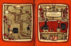 Anemone: Volodimir Golozubov - Doi cocosei - Two Chanticlee. Illustrators, Fairy Tales, Lunch Box, Children, Storytelling, Young Children, Boys, Kids, Illustrator