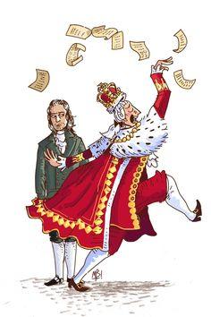 Da da da da daaa da da da de diiiya da da da da diya da (King George from Hamilton)