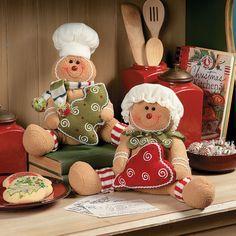Gingerbread Couple - TerrysVillage.com