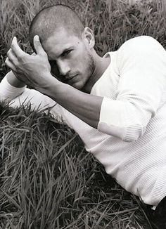 The ONLY reason I wantched Prison Break! Wentworth Miller... he will be my bf one day : )