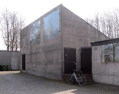 Kiosko de flores, cementerio de malmo, suecia, 1969 –última obra de Sigurd Lewerentz.