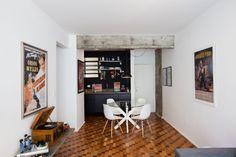 Com 43 m², apê ganha espaço através da integração de ambientes - Casa e Decoração - UOL Mulher