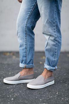 40354ed988e Vášeň pro boty Grey Slip On Vans