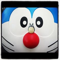 #totoro meets #doraemon - @chartreejew- #webstagram