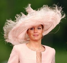 Posted on June 3, 2013 by HatQueen .....Queen Máxima (then Crown Princess Máxima) at the Spanish Royal Wedding, May 2004