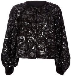ShopStyle: Dries Van Noten Embellished jacket