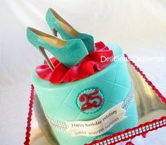 Shoe Diva Cake  Cake by DeliciousDeliveries