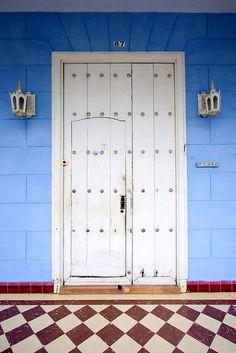 Havana Cuba  Door within a door?