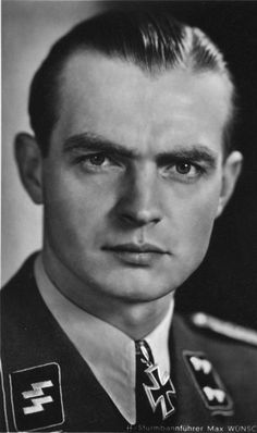 Max Wünsche (20 April 1914 — 17 April 1995) was a SS-Standartenführer (colonel) in the Waffen-SS during World War II who was awarded the Knight's Cross of the Iron Cross with Oak Leaves. In June 1943, Sturmbannführer Wünsche was ordered to transfer to a new division forming in France, which later became the 12th SS Panzer Division Hitlerjugend (12th SS Panzer Division Hitler Youth), and take command of the 12th SS Panzer Regiment.