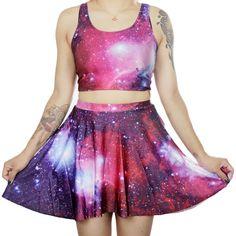 Pinkki Galaksihame   Cybershop
