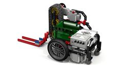 "Lego ""Fllying Lobster"" EV3 Robot with #Forklift ... or course"
