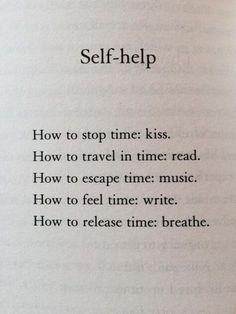 Self-help poem