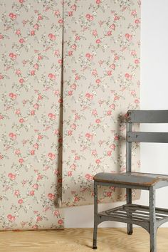 Graham & Brown Rose Cottage Wallpaper #urbanoutfitters