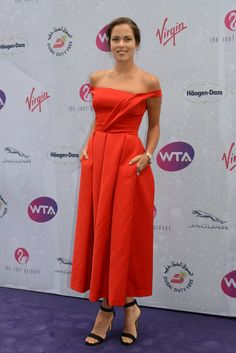 Ana Ivanovic at the WTA Wimbledon soirée - from Christopher Levy on Twitter - June 23, 2016 (follow my new board Tennis 3 - Mostly WTA)