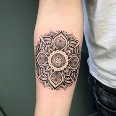 Most Gorgeous Forearm Mandala Tattoos at MyBodiArt