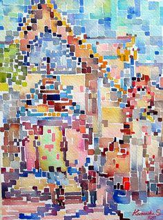 Watercolor Cross Stitch