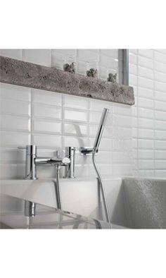 Uberlegen Crosswater Kai Lever Bath And Shower Mixer Tap With Shower Kit