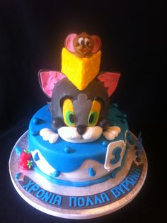 Tom and Jerry birthday cake by Penny