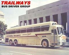 1963 Continental Trailways Bus