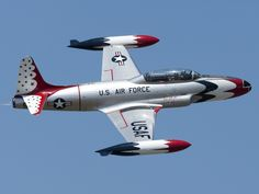 Lockheed P-80 Shooting Star from the early days of the Air Force Thunderbirds