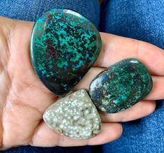 DIY jewelry supplies - Mixed lot of azurite and ocean jasper cabochons - Beading, macrame, soutache, wire wrapping, leathercraft supply Gems For Sale, Diy Jewelry Supplies, Gem S, Leather Craft, Labradorite, Jasper, My Etsy Shop, Gemstones, Unique Jewelry