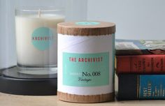 """""""Jazz Brunch"""" all-natural cotton wick small batch candle ($18) from Greenmarket Purveying Co. in Langhorne, PA."""