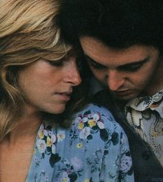 Paul and Linda McCartney. Nothing is sexier than true love.