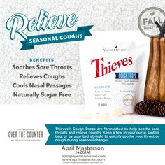 Thieves Cough Drops from Young Living!