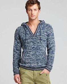 Gant by Michael Bastian The MB Marled Peruvian Hoodie Sweater  http://www1.bloomingdales.com/shop/mens/new-arrivals?id=20592