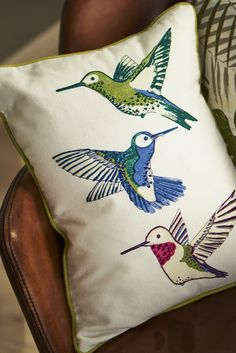 A little birdie told us this cushion is ideal for cuddling with