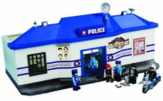 Sun-Mate Corporation Police Station Play Set, « Game Searches Adventure Games, Police Station, Pretend Play, Cops, Police Officer, Fun Police, Set Game, Sun, Amazon
