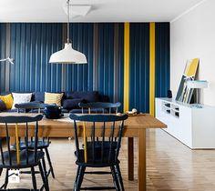 Salon - zdjęcie od Borysewicz i Munzar Ikea Ranarp, Modern Interior, Interior Design, Types Of Rooms, Home Look, Lamp Design, Store Design, Dining Area, Teak